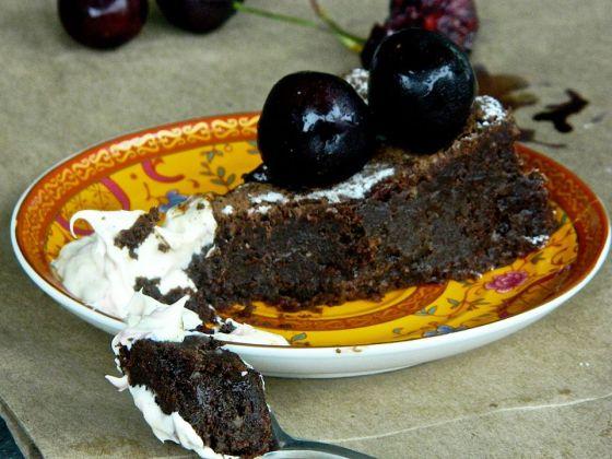 Chocolate And Hazelnut Cake Torta Gianduia