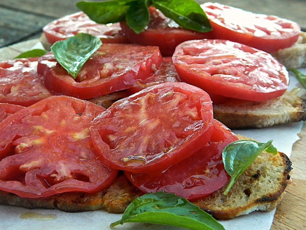 The Real Italian Bruschetta Silvia Colloca